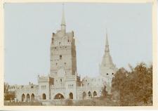 Allemagne, château à identifier  Vintage albumen print,  Tirage albuminé