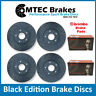 Focus ST225 Front Rear MTEC Black Edition Brake Disc Brembo Pads Drilled Grooved
