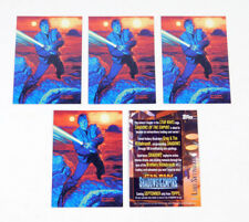 Lot of (5) 1996 Topps Star Wars Shadows of the Empire Promo Card (SOTE) Nm/Mt