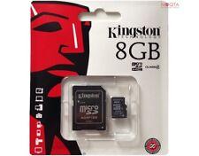 Kingston MicroSD Speicherkarte 8GB für Samsung Galaxy S2 S3 S4 S5 Mini Micro SD