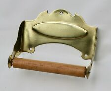 ANTIQUE TOILET PAPER HOLDER BY BRASSCRAFTERS