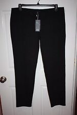 NWT Womens $208 Eileen Fisher Charcoal Gray Slim Pants Size XL