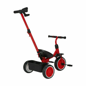 New Upgraded Kids Walker Baby Toddler Bike Bicycle Ride On Tricycle Trike T1