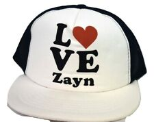 Womens Love Zayn Malik 1D One Direction Mesh Trucker Baseball Hat Cap New