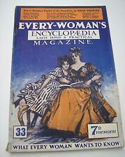 4 ISSUES EVERY-WOMAN`S ENCYCLOPEDIA  PART 10,15,31 AND 33