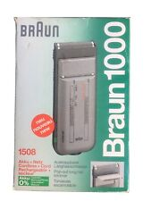 Braun 1000 Shaver
