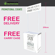 Herbalife Promotional Display Stands -Popup/Portal/Exhibition Stand_Free Facial