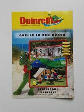 Freizeitpark - Duinrell - Faltprospekt - 2004