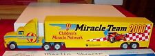 CHILDREN'S MIRACLE NETWORK MIRACLE TEAM 2000  TRACTOR TRAILER WINROSS TRUCK