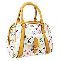 LOUIS VUITTON PRISCILLA HAND BAG MONOGRAM MULTI-COLOR M40096 AK25735b