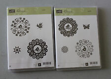 Stampin' Up FOUR SEASONS Clear Mount Set Of 8 NEW Retired Holidays