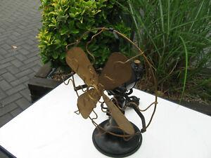 Antik Siemen-Schuckert Tisch-Ventilator Vintage  Nr. 2729127 Funktionsfähig