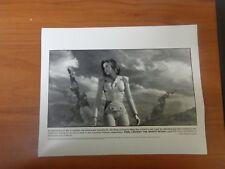 Vtg Glossy Press Photo Movies Final Fantasy The Spirits Within Alec Baldwin #1