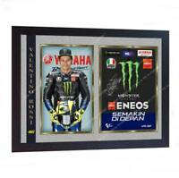 *** New Valentino Rossi signed autographed print photo poster FRAMED
