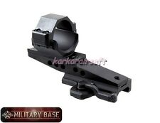Quick Detach Heavy Duty 30mm Cantilever Offset Scope Ring Mount
