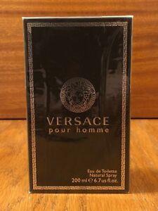 Versace Pour Homme 2013 Formulation Eau de Toilette 6.7oz BATCH CODE 326640