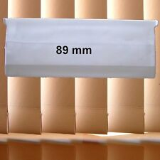 10 X 89MM VERTICAL BLIND BOTTOM WEIGHTS CHAINLESS DIY PARTS WEIGHT WHITE NEW