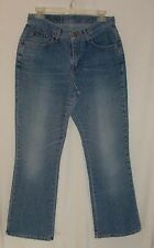 """RIDERS Women's Jeans Size 10P Inseam 29"""" Cotton Stretch Boot-Cut Mid-rise Flat"""