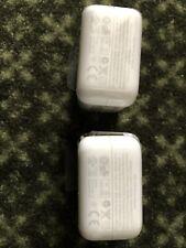 (2) New OEM 12W USB Wall Charger Blocks