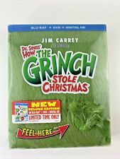 New ListingHow The Grinch Stole Christmas (Blu-ray + Dvd + Digital) Limited Ed. Fur Cover