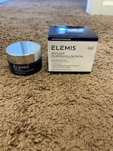 ELEMIS Peptide 4 Plumping Pillow Facial SLEEP MASK ANTI AGING NEW $65.00