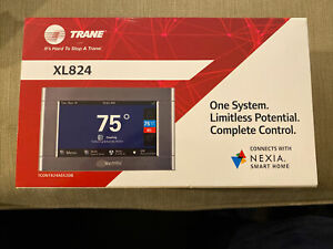 Trane Wi-Fi Programmable Touchscreen Thermostat XL824 TCONT824AS52DA Nexia