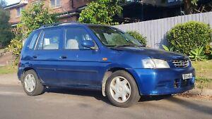 2001 Mazda 121 Metro Wrecking 1.5 EFi Manual Blue