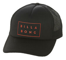 "BRAND NEW + TAG BILLABONG BOYS TOTS ""DYE CUT"" TRUCKER CAP HAT SNAPBACK BLACK"