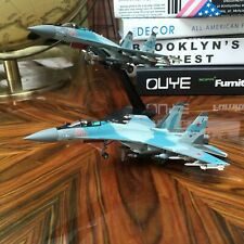 New 1/100 Russia SU-35 Super Flanker Military Airforce Aircraft  diecast model