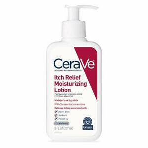 CeraVe Moisturizing Lotion for Itch Relief with Pramoxine Hydrochloride 8 Ounce