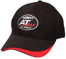 Garrett At Max Black Baseball Cap One Size Fits All with Fastener Strap 1664600