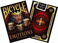 Bicycle Emotions Playing Cards Poker Size Deck Limited Edition Sealed New