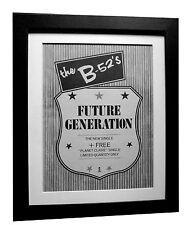 B-52's+B52's+Future Generation+POSTER+AD+ORIGINAL 1983+FRAMED+FAST GLOBAL SHIP