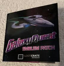 Loot Crate Galaxy Quest Emblem Prop Replica Patch