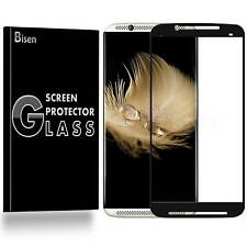 2-PACK [BISEN] FULL COVER Tempered Glass Screen Protector Saver For ZTE Axon 7