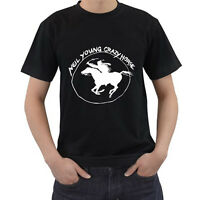 New Neil Young and Crazy Horse Ragged T-Shirt Size S-3XL Free Shipping