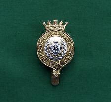 "Anodised The Duke of Lancaster's Yeomanry ""S&W""~ British Army Military Cap Badge"