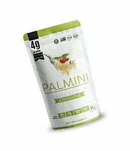 Palmini Low Carb Pasta | 4g of Carbs | As Seen On Shark Tank | Gluten Free | 12