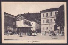 ALESSANDRIA GAVI 14 SCRITTA FASCISTA - AUTOMOBILE d'EPOCA Cartolina 1944
