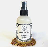Gypsy Queen Body Spray Divination Meditation Transformation Hoodoo Wiccan Pagan