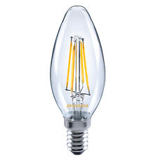 Sylvania 4.4W = 40W 470 Lm Led Traditionnel Bougie Ampoule E14 Ses Blanc Chaud