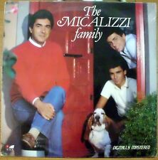 THE MICALIZZI FAMILY I WHAT'S GOIN' ON DIGITALLY MASTERED LP SEALED 1984