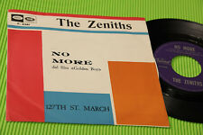 "THE ZENITHS 7"" NO MORE 1°ST ORIG ITALY 1965 EX++ UNIQE SINGLE ! FILM GOLDEN BOY"