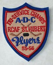 RCAF St Hubert Mens Tri-Service Champs A.D.C Flyers 55-56 Patch