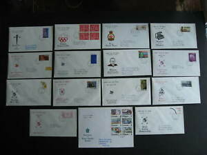 Canada 15 Viking, Peters Enterprises FDC first day covers all have back faults