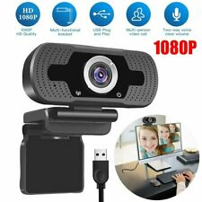 1080P Webcam Mikrofon HD Kamera Videoaufnahme für Computer PC Laptop Notebook
