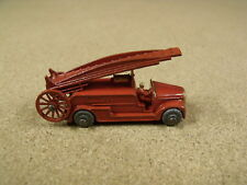 OLD VINTAGE LESNEY MATCHBOX # 9A DENNIS FIRE ESCAPE