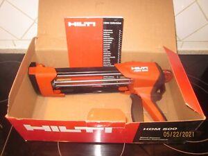 Hilti HDM 500 Anchor Caulking Gun Brand New