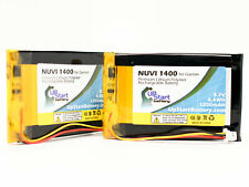 2x Replacement Battery for Garmin Nuvi 1450, 1490T, Nuvi 1460 Gps