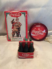 COCA COLA PLAYING CARDS, COCA COLA YO-YO, COCA COLA MINI 6 PACK